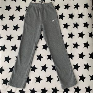 Nike grey slimmer fitting sweats xs